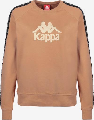 KAPPA Sweatshirt 'Tagara' in creme / cognac / schwarz, Produktansicht