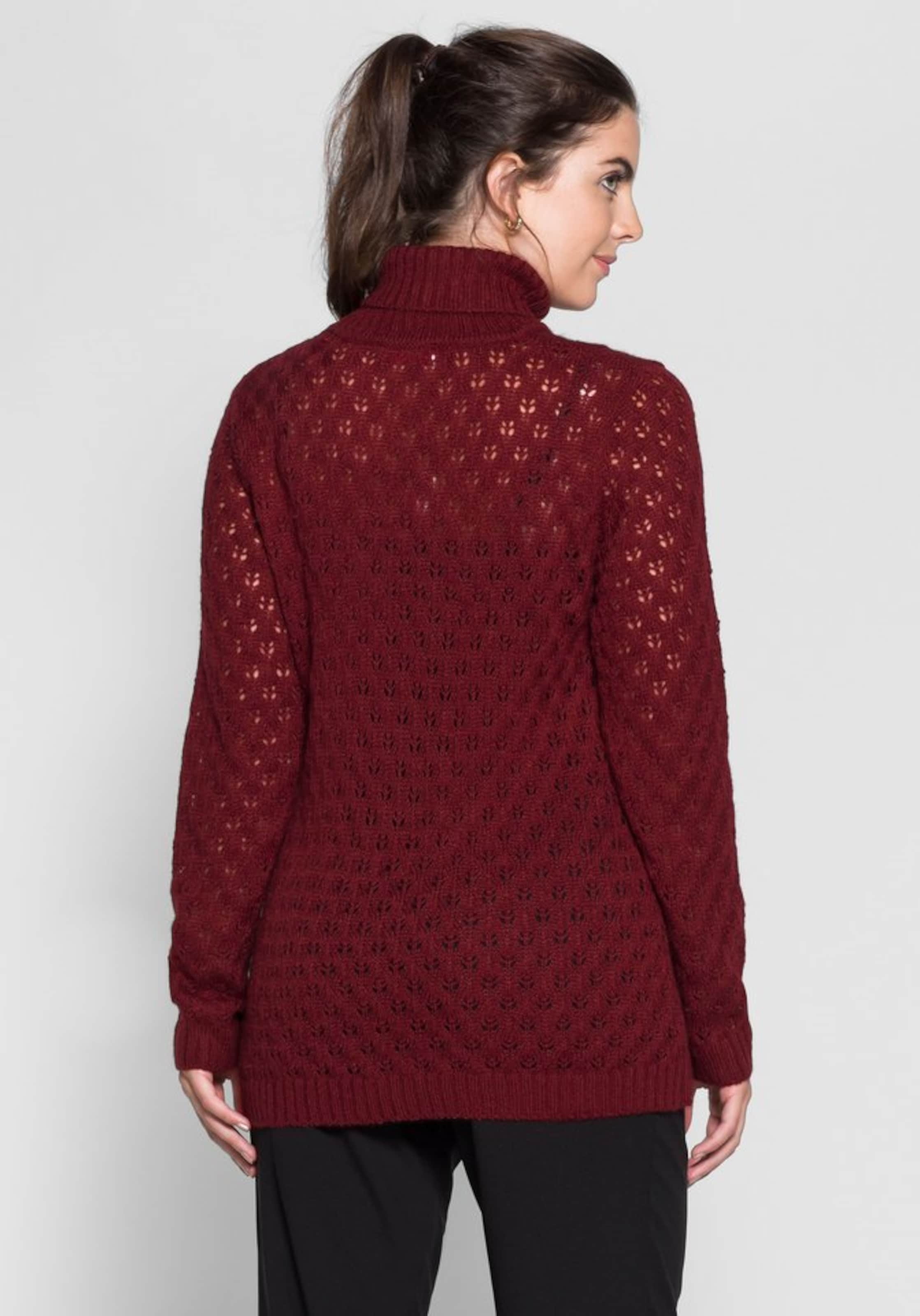 In Pullover Pullover Bordeaux In Sheego Bordeaux Pullover Sheego Sheego Bordeaux Sheego In Pullover 0mNvn8OywP