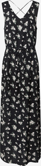 VERO MODA Kleid 'VMSIMPLY EASY SL TANK MAXI DRESS WVN GA' in schwarz / weiß, Produktansicht