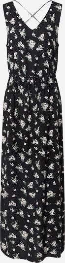 VERO MODA Kleid 'VMSIMPLY EASY SL TANK MAXI DRESS WVN GA' in schwarz / weiß: Frontalansicht