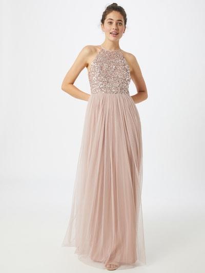 Maya Deluxe Kleid in creme / rosa, Modelansicht