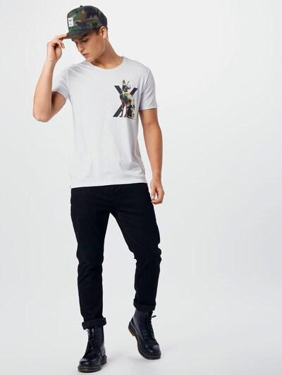 EINSTEIN & NEWTON Majica u crna / bijela: Prednji pogled