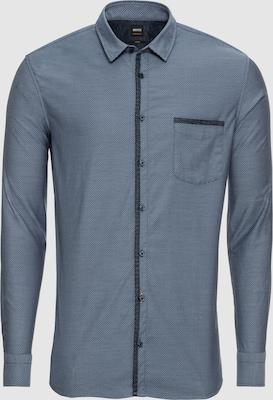 BOSS Overhemd 'Magneton 10208470 01' in Blauw