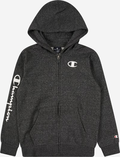 Champion Authentic Athletic Apparel Sweatjacke in dunkelgrau, Produktansicht