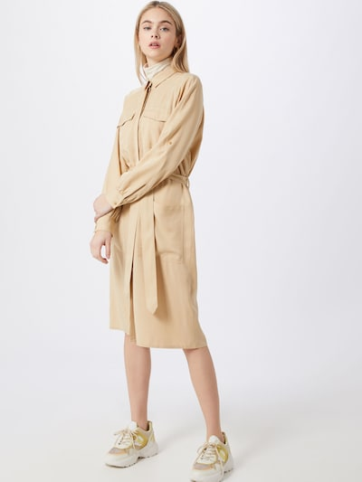 TOM TAILOR Kleid in creme, Modelansicht