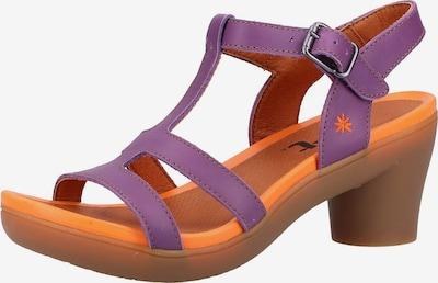 ART Sandalen met riem in de kleur Neonlila, Productweergave