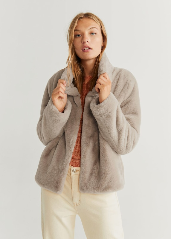 MANGO Jacke 'campbell' in beige | ABOUT YOU