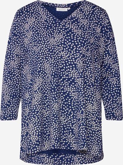 Masai Shirt 'Daina' in de kleur Royal blue/koningsblauw / Wit, Productweergave