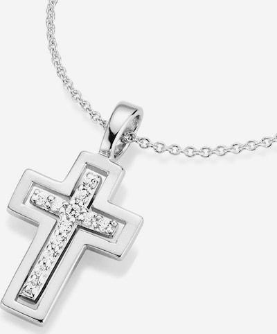 FIRETTI Kette 'Kreuz' in silber, Produktansicht