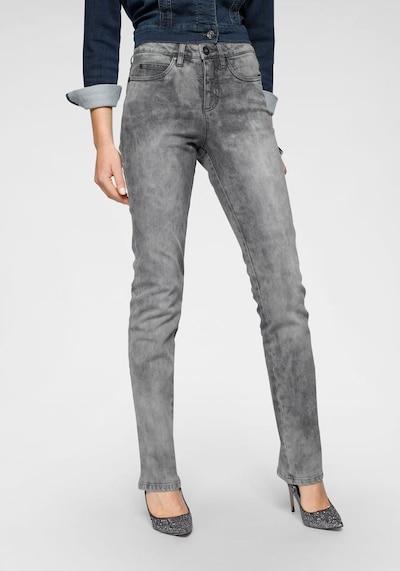 ARIZONA Jeans in grau, Modelansicht