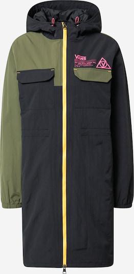 VANS Manteau mi-saison en jaune / kaki / noir, Vue avec produit