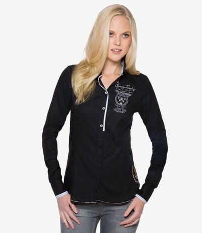 Soccx Bluse in schwarz, Modelansicht