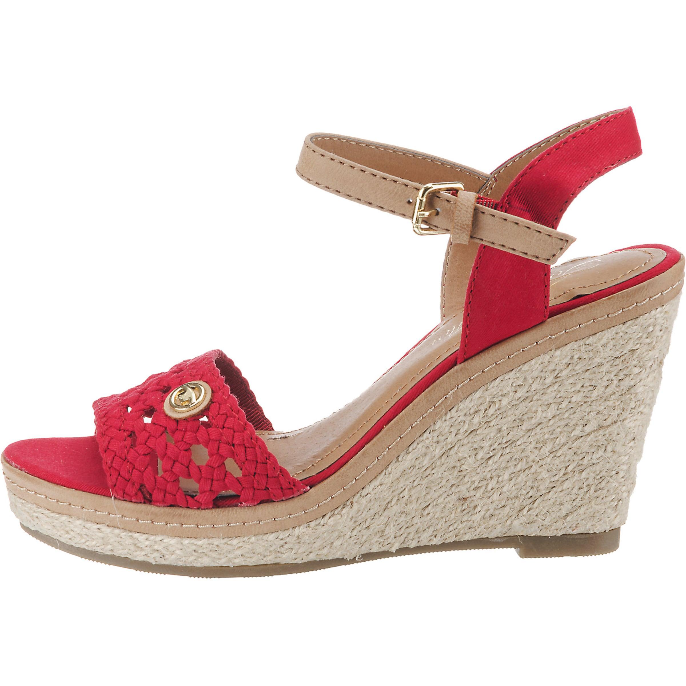 BeigeHellbeige In Rot Sandaletten Tom Tailor L5R4Aj