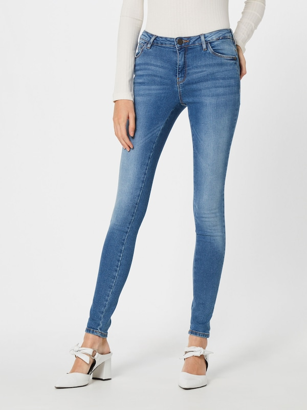 Blauw Nw Noisy Jeans' May Skinny 'nmkimmy Jeans In Denim KJlFu1cT3