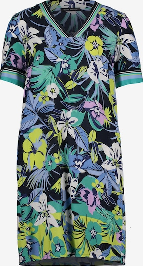 Betty Barclay Sommerkleid kurzarm in dunkelblau / grün, Produktansicht