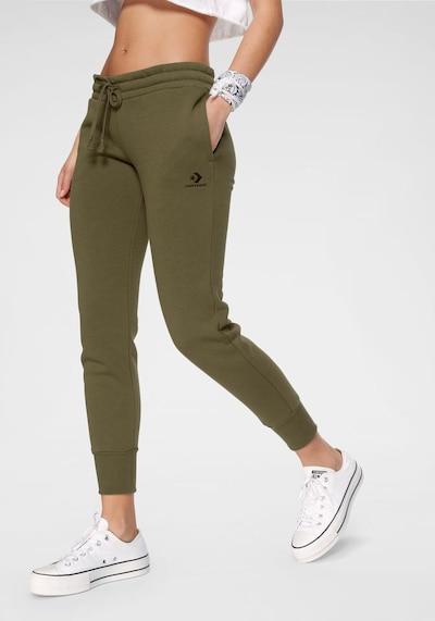 CONVERSE Jogginghose in khaki, Modelansicht
