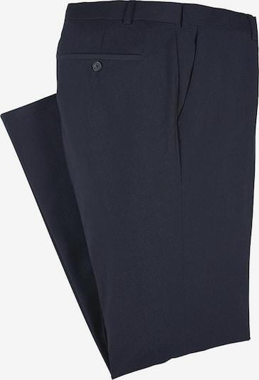 BRUNO BANANI Anzug mit Krawatte und Einstecktuch (Set, 4 tlg.) in marine, Produktansicht