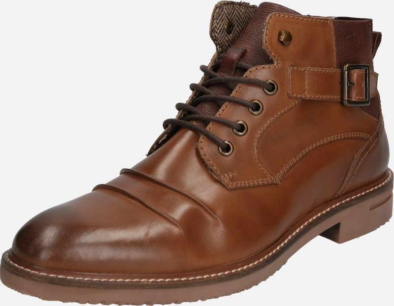 ABOUT YOU Boots 'Malte' in cognac, Produktansicht