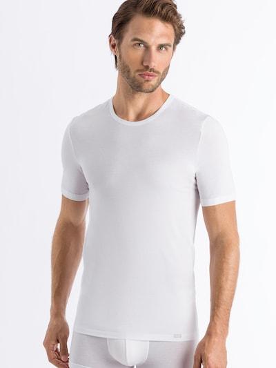 Hanro T-Shirt ' Natural Function ' in weiß, Modelansicht