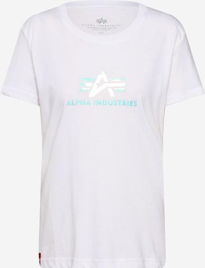 ALPHA INDUSTRIES Koszulka 'Rainbow T Wmn' w kolorze białym, Podgląd produktu
