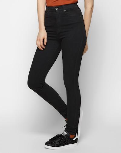 Dr. Denim 'Moxy' Skinny High Waist Jeans in schwarz, Modelansicht