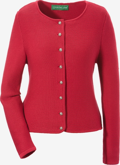 COUNTRY LINE Strickjacke in rot, Produktansicht