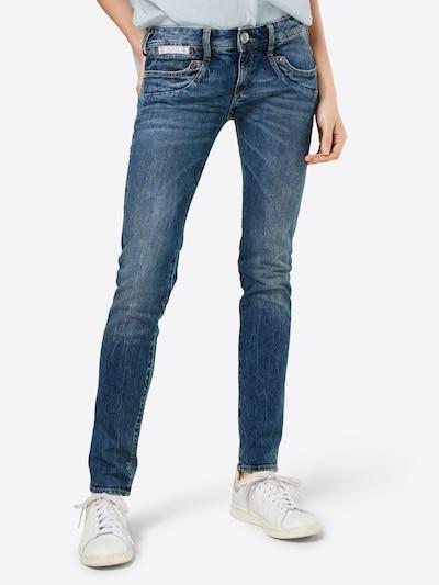 Herrlicher Jeans 'Piper Slim Denim Comfort' i blue denim, Modelvisning