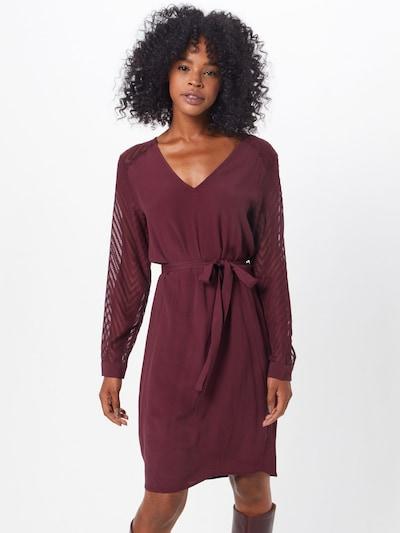 OBJECT Kleid in burgunder, Modelansicht
