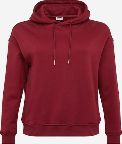 Urban Classics Sweatshirt in Burgundy, Item view