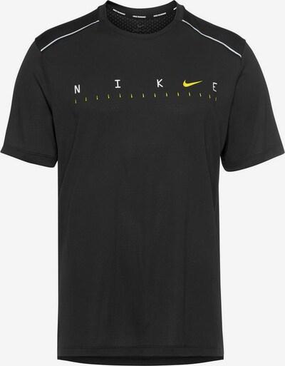 NIKE Laufshirt in schwarz / weiß, Produktansicht