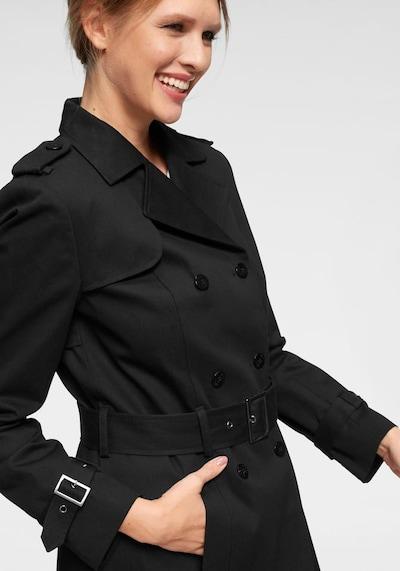 Aniston CASUAL Trenchcoat in schwarz, Produktansicht