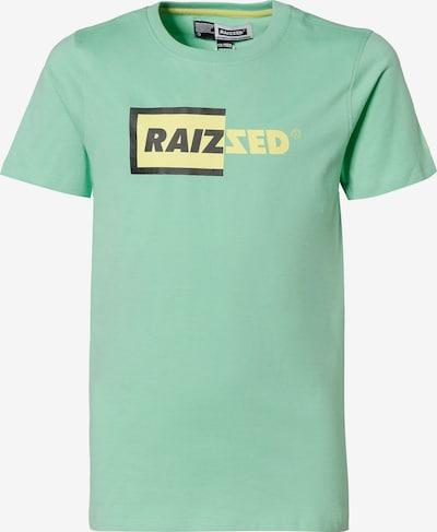 Raizzed T-Shirt 'Hamburg' in limone / mint / schwarz, Produktansicht