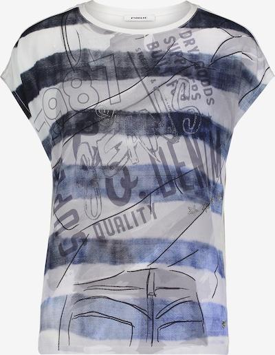 Public Shirt in dunkelblau / grau / mischfarben, Produktansicht