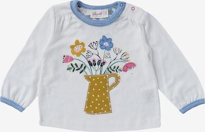 People Wear Organic Langarmshirt in blau / weiß, Produktansicht