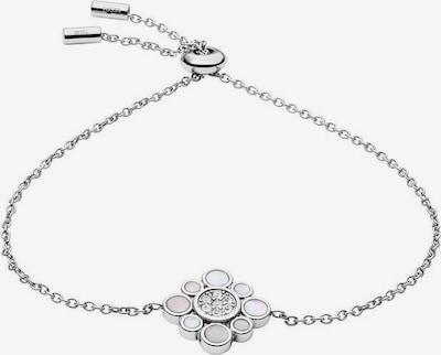 FOSSIL Armband 'Blüte' in mischfarben / silber, Produktansicht