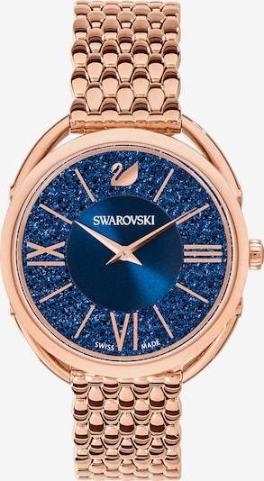 Swarovski Uhr in saphir / rosegold, Produktansicht