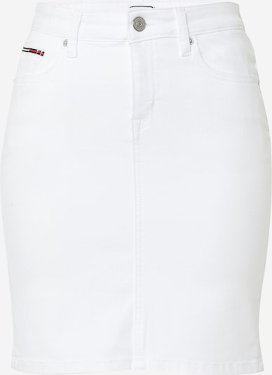 Tommy Jeans Rok 'CLASSIC DENIM SKIRT CNW' in de kleur Wit, Productweergave