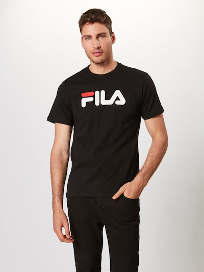 FILA T-Shirt 'PURE' in schwarz / weiß, Produktansicht