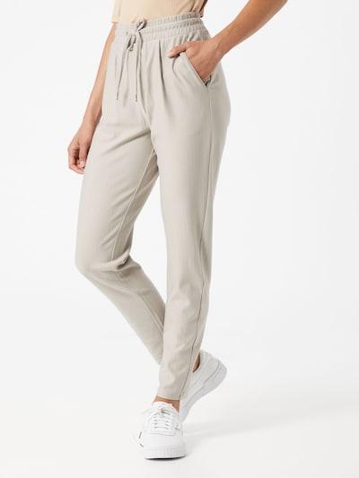 Q/S designed by Spodnie w kolorze beżowym, Podgląd na modelu(-ce)