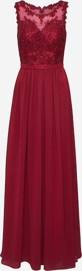 mascara Večernja haljina 'LACE' u boja vina: Prednji pogled