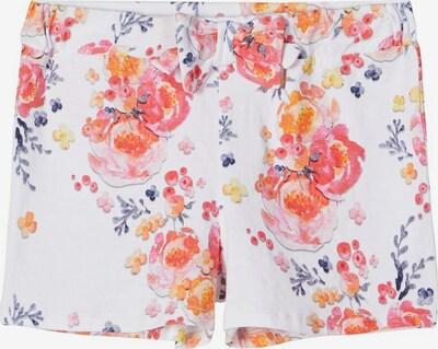 NAME IT Print Jersey Shorts in weiß, Produktansicht