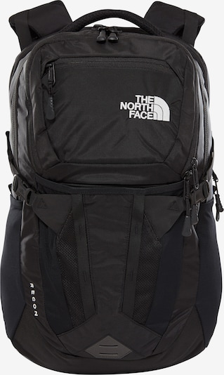 THE NORTH FACE Rugzak 'Recon' in de kleur Zwart / Wit, Productweergave