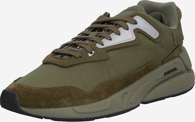 DIESEL Sneaker 'Serendipity' in oliv / silber, Produktansicht