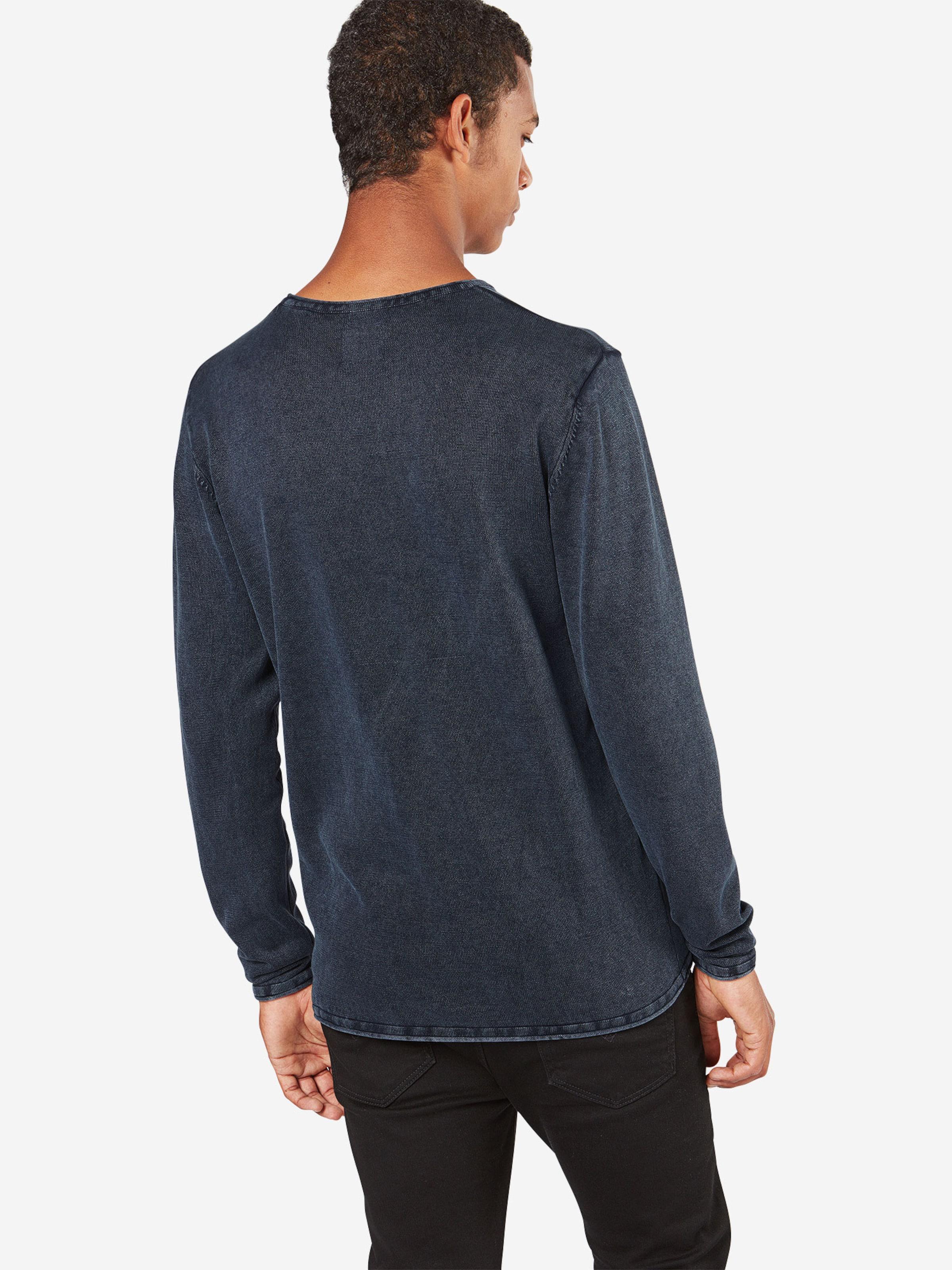 WASH CREW Langarm 'GARSON NECK Only NOOS' Shirt Sons amp; XqYnU7g