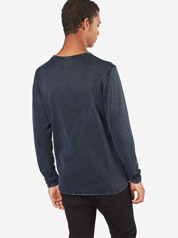 Only & Sons Langarm-Shirt 'GARSON WASH CREW NECK NOOS'