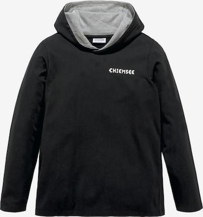 CHIEMSEE Chiemsee LM Kapuzenshirt in schwarz, Produktansicht