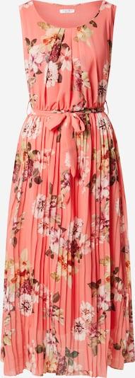 ZABAIONE Kleid 'Sylvie' in mischfarben / orangerot, Produktansicht