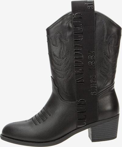 Keddo Cowboystiefel in schwarz, Produktansicht