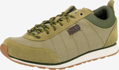 JACK WOLFSKIN Sneakers Low 'Mountain Dna' in grün / oliv, Produktansicht