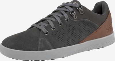 JACK WOLFSKIN Sneaker in braun / anthrazit, Produktansicht